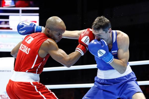 Olympisieger Roniel Iglesias, links (Symbolbild) | Bildquelle: https://t1p.de/n20j © Boxing2019 | Bilder sind in der Regel urheberrechtlich geschützt