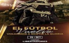 La decisión fue anunciada por el presidente de Conmebol en videoconferencia. Foto: @Libertadores