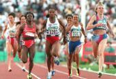 Se hablará por muchos años de esa carrera de 800 metros. Ana Fidelia, la voluntad y sed de victoriavestida de atleta