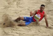 Es Juan Miguel uno de los mayores talentos del Atletismo mundial, y en consonancia lanza su candidatura al oro olímpico.