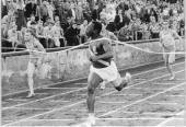 Enrique Figuerola inició la ruta de gloria con su plata del hectómetro en Tokio 1964.