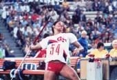 Un intento inicial de 68.40 metros convirtió a María Caridad en inalcanzable en la liza moscovita de 1980.
