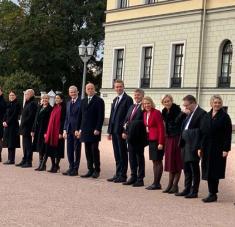 El nuevo Gabinete noruego.