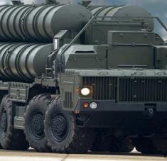 Vehículo de armamento ruso.