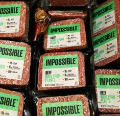 Impossible Foods, una 'start-up' estadounidense de sustitutos de la carne estaría planeando su salida a bolsa. Foto: Reuters.