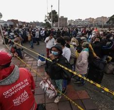 Bogotá es la zona más afectada por la pandemia en Colombia al contabilizar 259.008 contagios de coronavirus. Foto: Xinhua