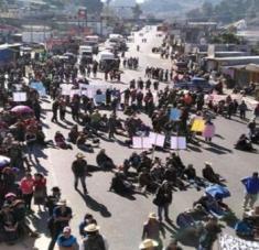 Desde el 21 de noviembre se han registrado protestas en Guatemala para exigir la renuncia de Giammattei y su equipo de gobierno. Foto: Prensa Libre