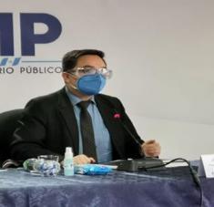 Juan Francisco Sandoval participó en el proceso que permitió llevar a la justicia al expresidente Otto Pérez Molina por corrupción. Foto: CNN