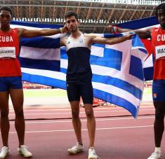 Jua Miguel y Massó, doblete histórico para el atletismo y el deporte cubano, después de Falón y Neisser en Atlanta 1996, y Yipsi-Yunaika Crawford en Atenas 2004.