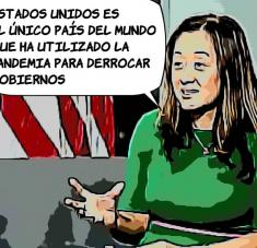 La subsecretaria de Estado de Estados Unidos para el Hemisferio Occidental, Julie Chung, denunció el lunes que Cuba y Venezuela usan la pandemia para silenciar las voces de la oposición.