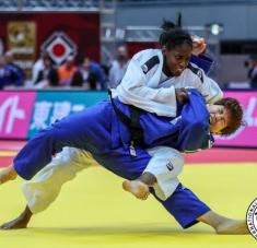 Kaliema modelará su forma física luego de recuperarse de ligeras molestias. Foto: International Judo Federation.