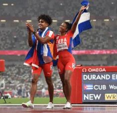 Omara-Yuniol-Miriam, un tridente de éxito y máxima expresión de cubanía.