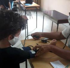 Fotos cortesía de las familias y docentes de la escuela Abel Santamaría