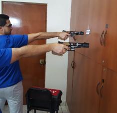 Leuris Pupo y Jorge Félix álvarez mantienen niveles de preparación en estado de cuarentena.