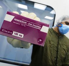 Se trata del primer medicamento contra el covid-19 cuyo uso ha sido autorizado en Europa. Foto: Reuters.