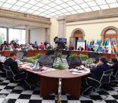 La firma del acuerdo aeroespacial se dio en el marco de la vigésimo primera Cumbre de la Celac que se celebra en México. Foto: @SRE_mx
