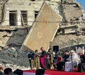 """El sumo pontífice comenzó su oración diciendo """"Si Dios es el Dios de la vida, y lo es, a nosotros no nos es lícito matar a los hermanos en su nombre"""". Foto: @Beltrew"""