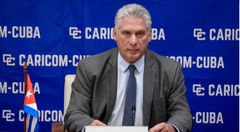 Díaz-Canel en CARICOM-CUBA: Defendamos la solidaridad y la cooperación |  Cuba Si