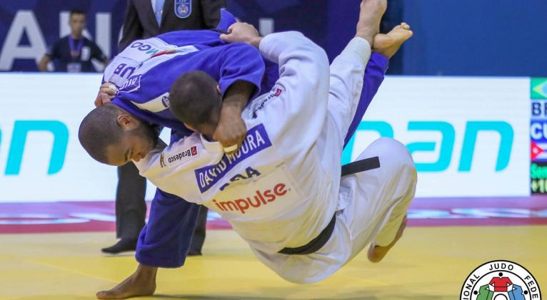 granda se afianzó en puestos de clasificación al sumar 700 unidades doradas y escalar tres posiciones en el ranking, hasta el lugar 17. Foto: www.judoinside.com