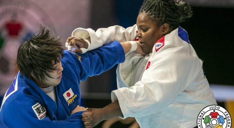 Continúa siendo Idalys la principal carta de triunfo del judo cubano. Pudiera tener una revancha frente a la francesa Romane dicko en Tiblisi. Fotos: Federación Internacional de Judo.