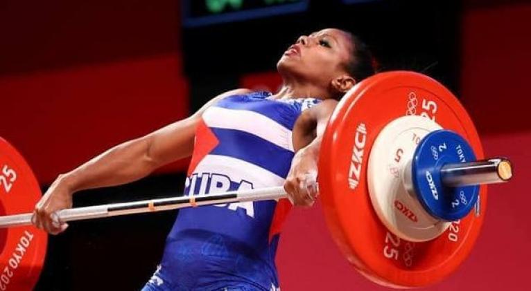 Ludia quedó muy cerca de sus mejores totales en ambos movimientos.