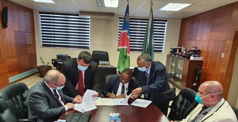 Los representantes de ambos países destacaron la cooperación en este sector, desarrollada de manera oficial por 30 años, a partir de la independencia de Namibia, publicó el sitio web de la Cancillería.