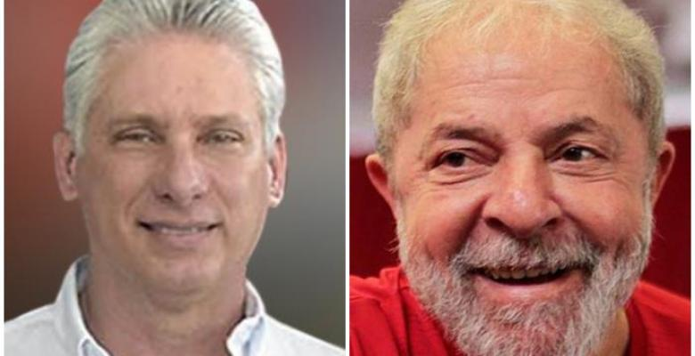 Diaz-Canel thanks message of encouragement and support from Lula